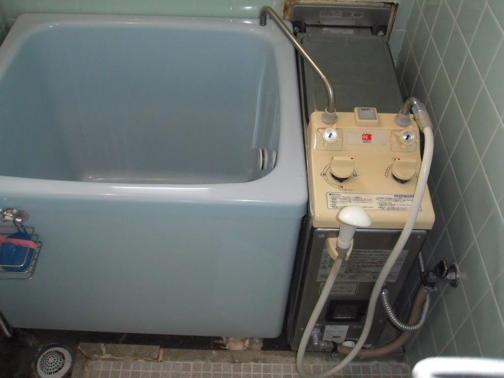 兵庫県尼崎市 賃貸マンション ノーリツ ガス給湯器取替工事施工事例