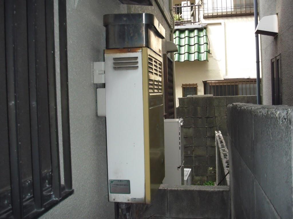 兵庫県西宮市 戸建て ノーリツ ガス給湯器 取替 工事(交換)