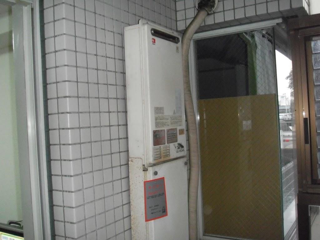 京都市西京区 マンション ガス給湯器取替(交換)