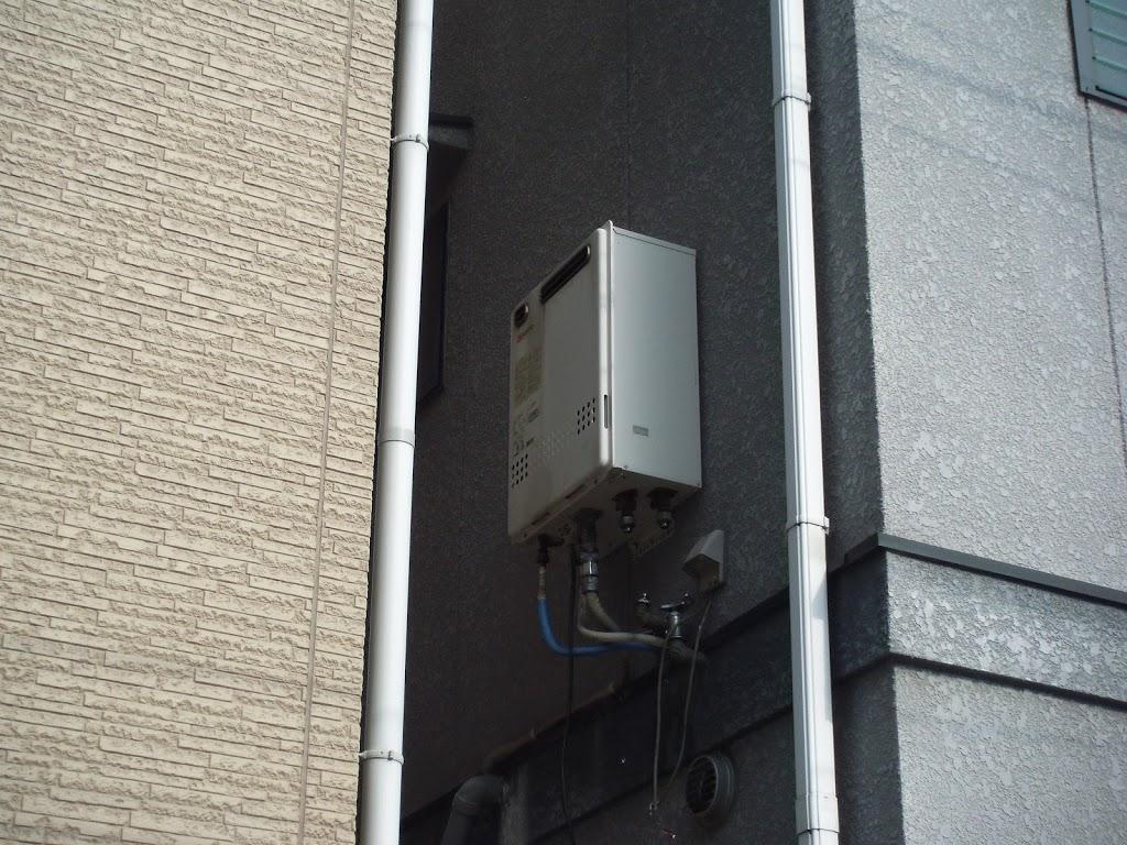 大阪市都島区 戸建て ノーリツ エコジョーズ ガス給湯器 取替 工事(交換)