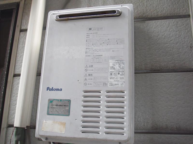 兵庫県尼崎市 マンション ノーリツ ガス給湯器 取替 工事(交換)