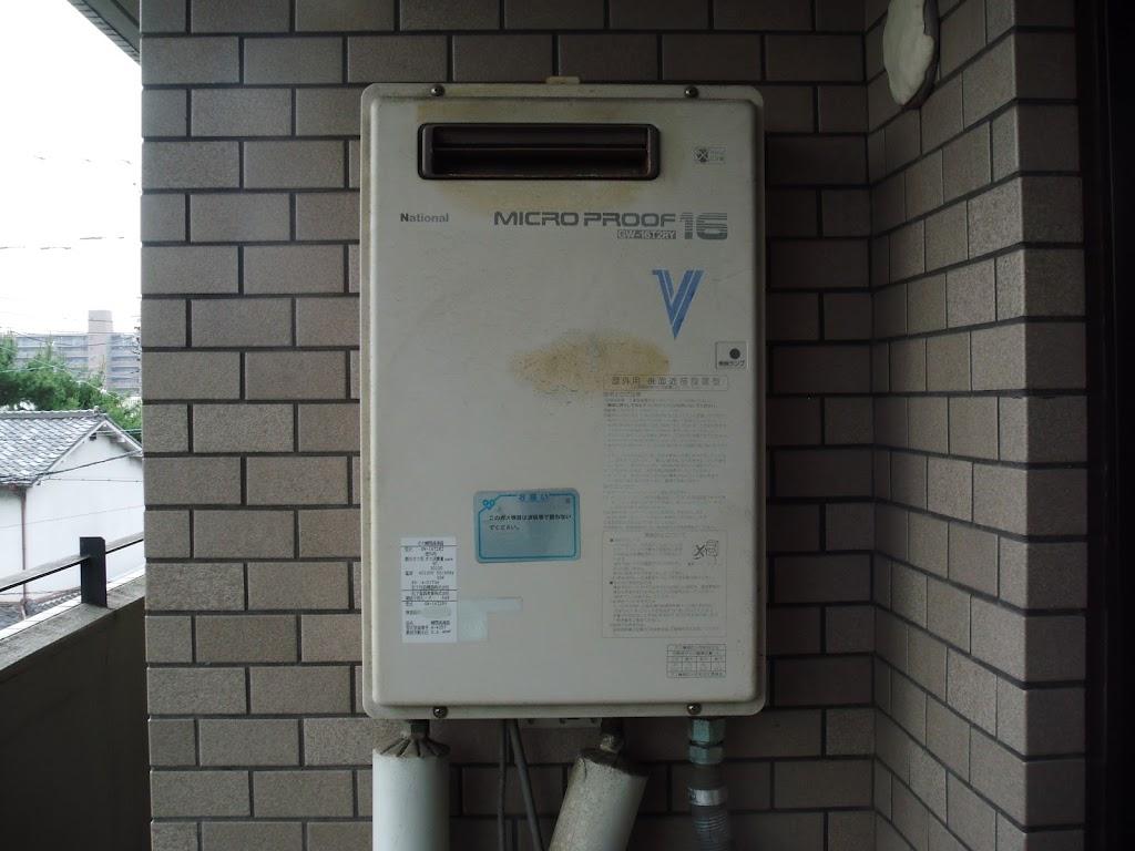 兵庫県尼崎市 賃貸マンション ノーリツ ガス給湯器 取替 工事(交換)