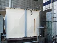 兵庫県 尼崎市 マンション貯水槽清掃作業報告