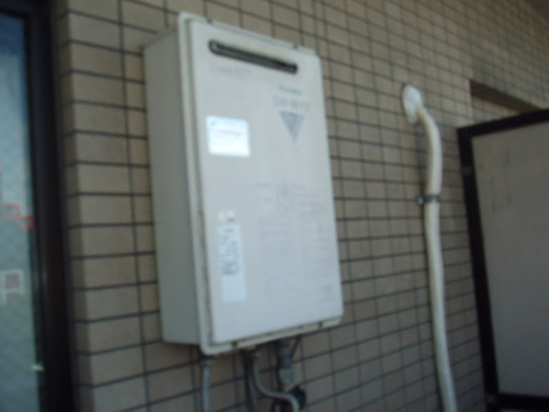 大阪府 大阪市 北区 マンション リンナイガス給湯器 取替え交換 工事