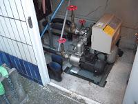 兵庫県 尼崎市 マンション 加圧ポンプ アキュームレーター 取替 工事
