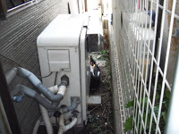 兵庫県 西宮市 戸建て ノーリツ ガス風呂給湯器 取替交換工事