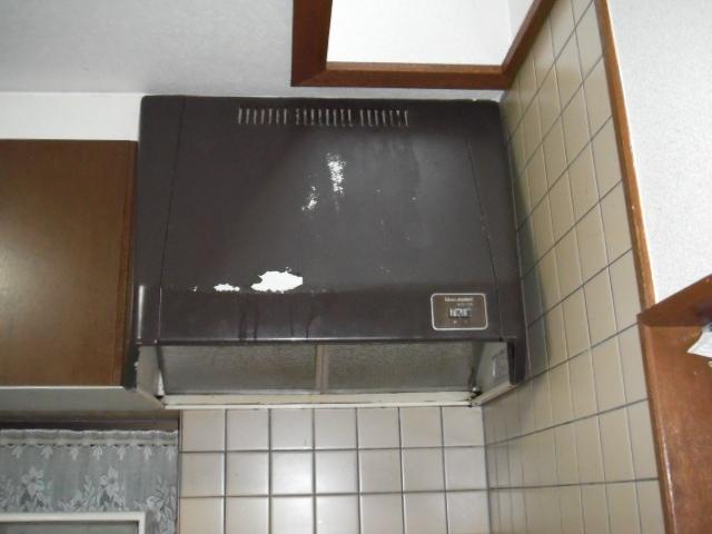 兵庫県尼崎市 戸建て住宅 クリナップレンジフード取替交換工事