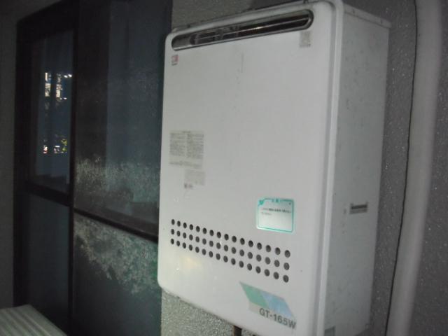 兵庫県尼崎市 賃貸マンション ノーリツガス風呂給湯器 取替交換工事