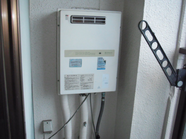 兵庫県神戸市東灘区 ノーリツガス給湯器 取替交換工事