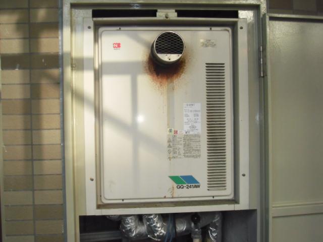 兵庫県神戸市須磨区 マンション ノーリツ24号高温差し湯タイプ 取替交換工事