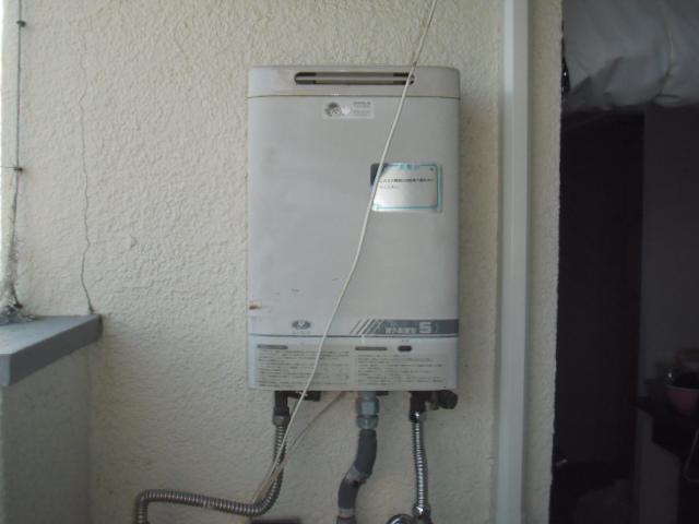 神戸市灘区 マンション ノーリツガス給湯器 取替交換工事