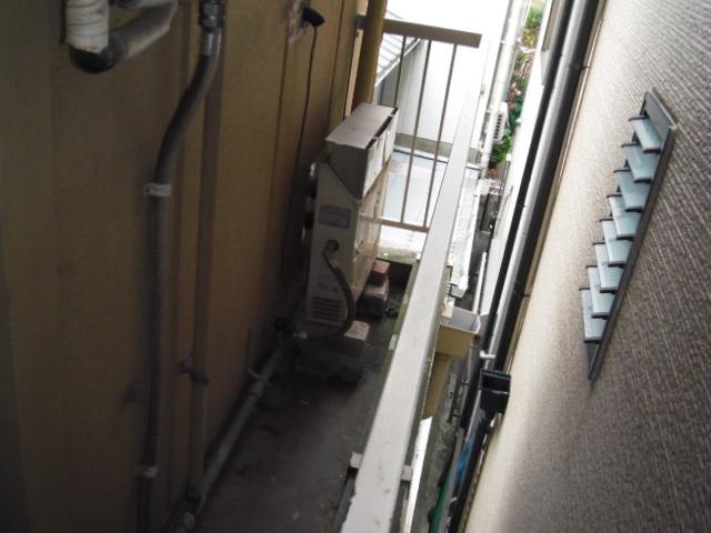 大阪府大阪市中央区 戸建て住宅 ノーリツガス風呂給湯器 セミオートタイプ 取替交換工事