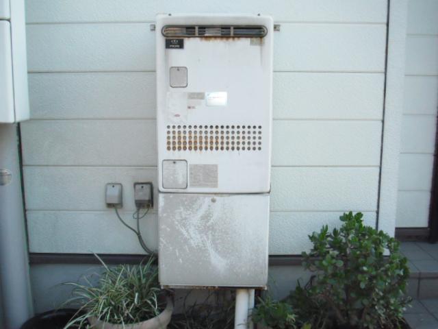兵庫県神戸市須磨区 戸建て住宅 ノーリツ ガス風呂湯沸かし器 セミオートタイプ 取替交換工事