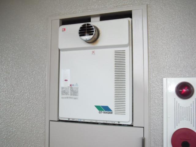神戸市灘区 マンション ノーリツガス風呂給湯器 セミオートタイプ 取替交換工事