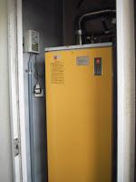 兵庫県西宮市 マンション ノーリツ ガス給湯器 屋内設置形 強制給排気 取替交換工事