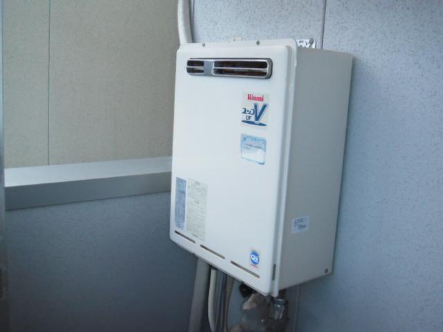 兵庫県尼崎市 戸建て住宅 ノーリツ エコジョーズ ガス風呂給湯器 セミオートタイプ 取替交換工事