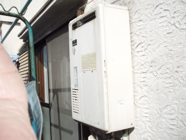 兵庫県西宮市 戸建て住宅 ノーリツ エコジョーズ ガス追い炊き付き給湯器 取替交換工事