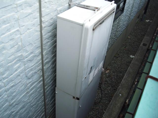 兵庫県尼崎市 戸建て住宅 ノーリツ ガス風呂給湯器 セミオートタイプ 取替交換工事