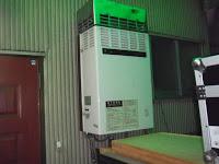 兵庫県神戸市中央区 住宅 ノーリツ ガス給湯器 標準設置型 取替交換工事