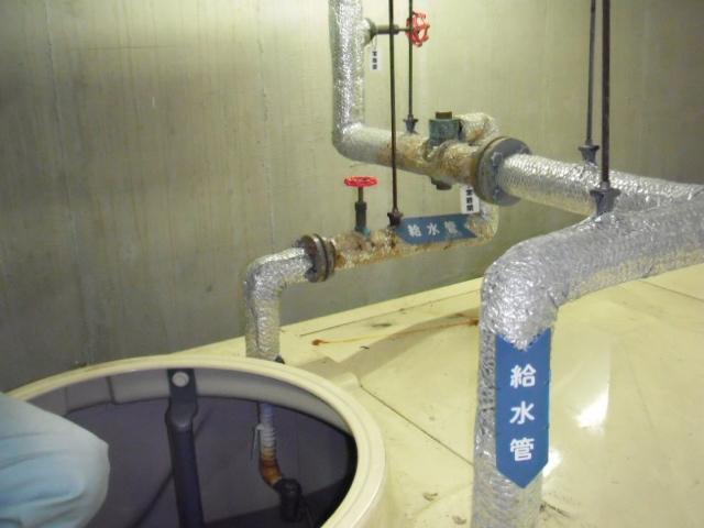 兵庫県尼崎市 テナントビル 貯水槽 定水位弁 取替交換工事