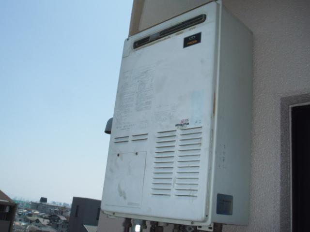 兵庫県 尼崎市 マンション リンナイ エコジョーズ 暖房付きガスふろ給湯器 セミオート 取替交換工事