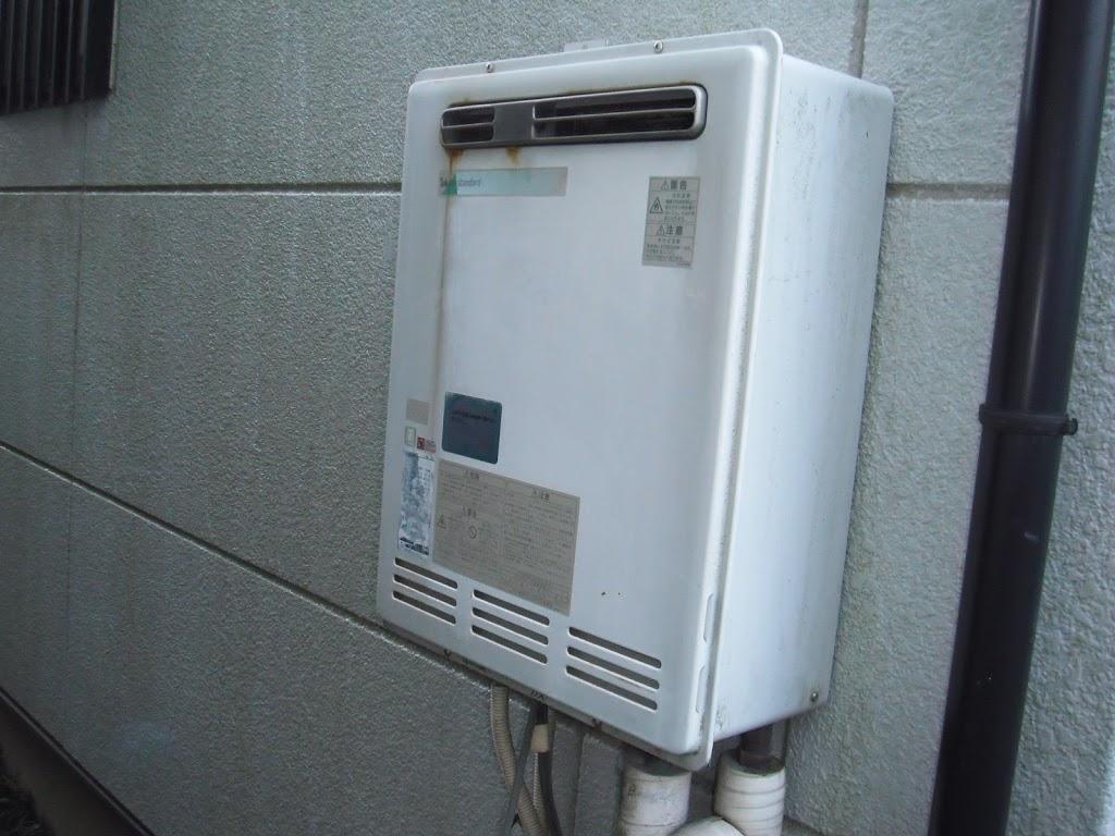 兵庫県 神戸市 北区 戸建て住宅 ノーリツ ガスふろ給湯器 屋外壁掛け形 セミオート 取替交換工事