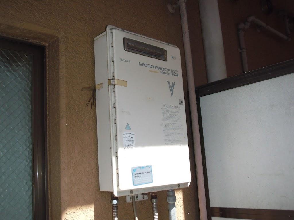 兵庫県 神戸市 東灘区 マンション 16号 ノーリツ ガス給湯器 取替交換工事 施工