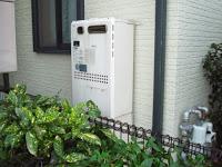 兵庫県 伊丹市 戸建て住宅 ノーリツ ガス温水暖房付きふろ給湯器 屋外設置 フルオート 取り替え交換工事施工