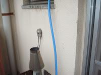 兵庫県 尼崎市 社宅 ノーリツ ガス給湯器 屋外設置型 浴室シャワー水栓 新設工事 施工