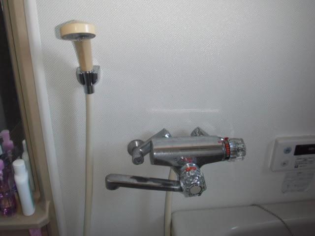 兵庫県 尼崎市 マンション KVK 浴室 サーモスタット シャワー水栓取り替え交換工事 施工