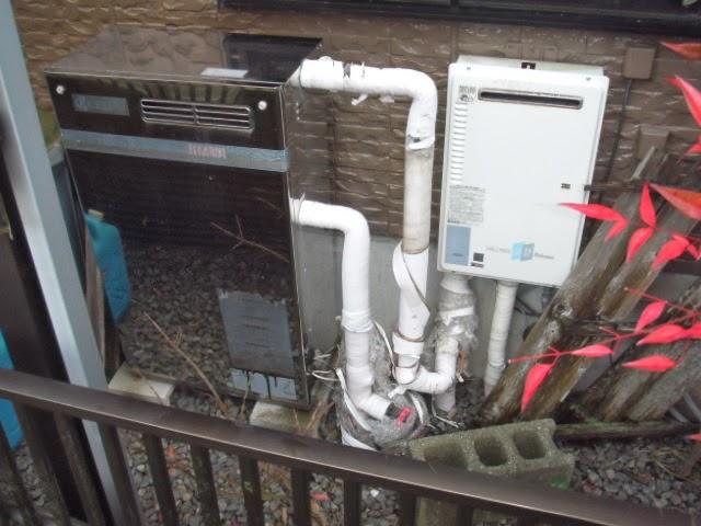 兵庫県 三田市 戸建て住宅 ノーリツ 直圧式 灯油ボイラー  取替交換工事 施工
