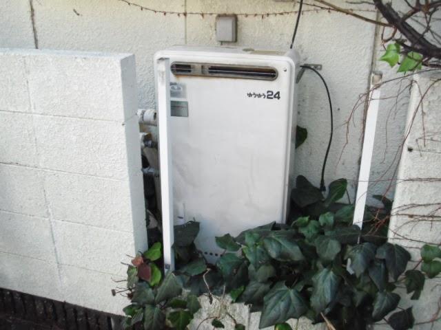 兵庫県 神戸市 垂水区 戸建て住宅 ノーリツ 24号 エコジョーズ 隣接設置型 フルオート 取替交換工事施工
