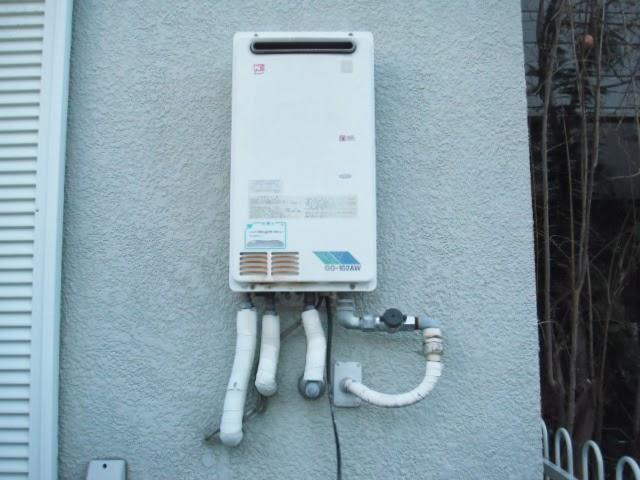 兵庫県 尼崎市 戸建て住宅 ノーリツ ガス給湯器 高温差し湯 屋外設置型 取替交換工事 施工