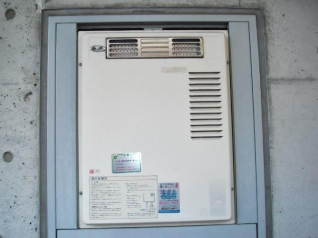 兵庫県 尼崎市 マンション ノーリツ 16号 ガス給湯器 屋外設置型 PS標準設置 取替交換工事施工