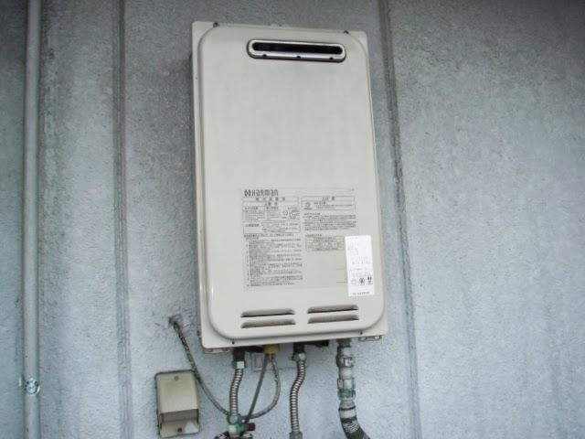 兵庫県 尼崎市 マンション ノーリツ 16号 ガス給湯器 屋外壁掛け型 取替交換工事 施工
