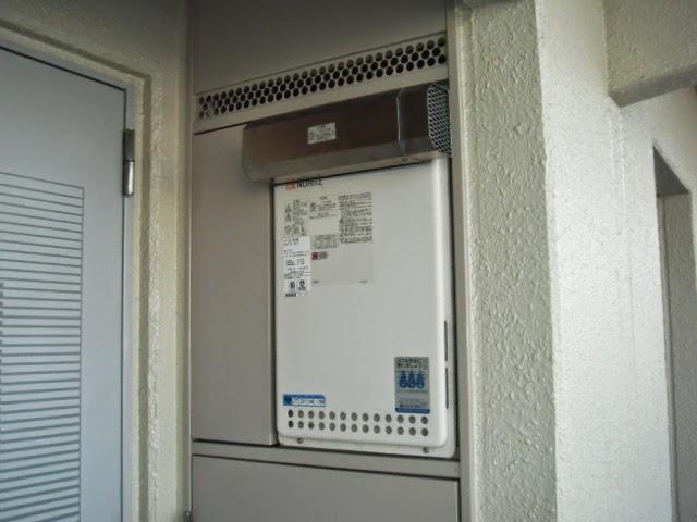 大阪府 東大阪市 マンション ノーリツ 16号 ガス給湯器 PS標準設置 取替交換工事 施工