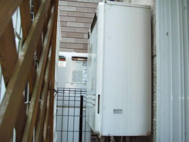 兵庫県 尼崎市 戸建て住宅 ノーリツ 16号 エコジョーズ 追焚き付き給湯器 屋外壁掛け型 取替交換工事 施工