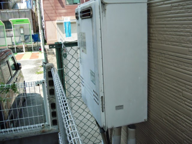 兵庫県 尼崎市 戸建て住宅 ノーリツ 16号 エコジョーズ ガス追焚き付き給湯器 セミオート 取替交換工事 施工