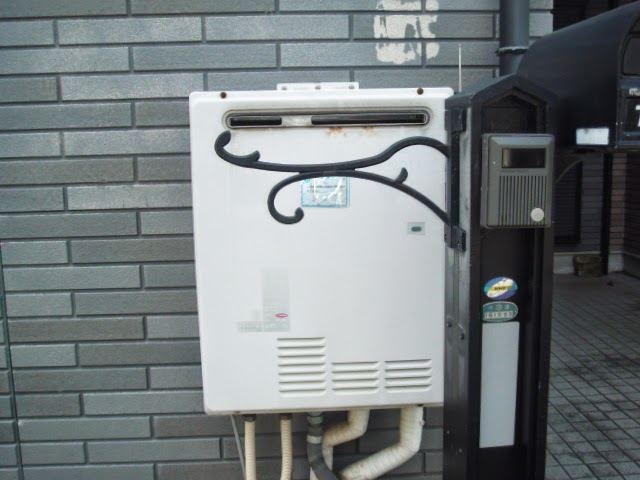 兵庫県 西宮市 戸建て住宅 リンナイ 20号 ガス追焚き付き給湯器 セミオートタイプ 屋外壁掛け 電波リモコン 取替交換工事 施工