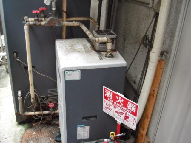 兵庫県 伊丹市 美容室 ノーリツ ガス給湯器 24号 屋外壁掛け型 取替交換工事 施工