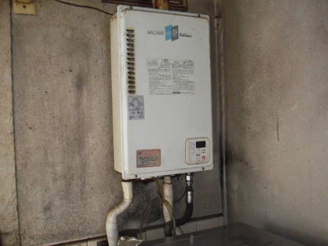兵庫県 尼崎市 戸建て住宅 ノーリツ 20号 ガス給湯器 エコジョーズ 屋外壁掛け型 取替交換工事施工