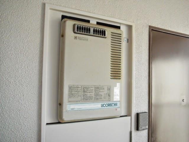 兵庫県 神戸市 長田区 マンション ノーリツ 24号 ガス給湯器 PS設置 標準型 取替交換工事 施工