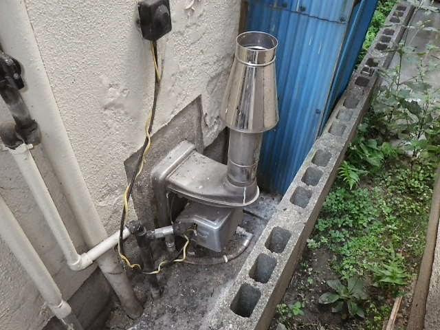 兵庫県 尼崎市 戸建て住宅 ノーリツ ガス風呂釜 取替交換工事 施工