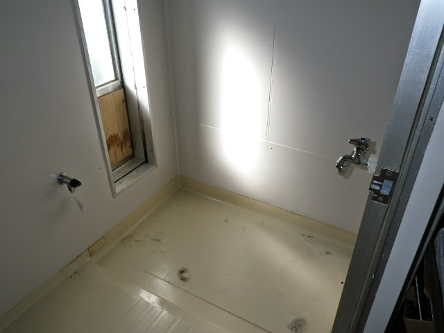 兵庫県 神戸市 須磨区 団地 ハウステック 16号 カベピタ パックイン 浅形1100サイズ浴槽 新設工事