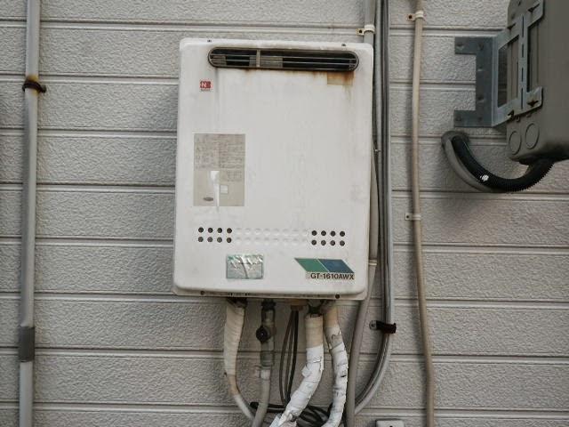 兵庫県 尼崎市 戸建て住宅 ノーリツ エコジョーズ ガスふろ給湯器 20号 屋外壁掛型 フルオートタイプ 取替交換工事施工