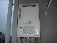 兵庫県尼崎市 マンション 16号 ノーリツ ガス給湯器 屋外設置型 取替 工事(交換)