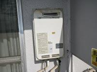 大阪市 西淀川区 マンション ノーリツ 24号 ガス給湯器 屋外壁掛型 取替交換工事施工