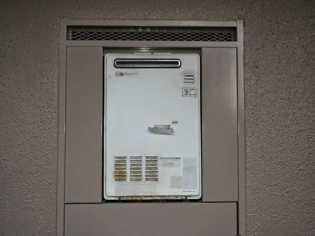 兵庫県 尼崎市 マンション ノーリツ 16号 ガス給湯器 屋外設置型 取替交換工事施工