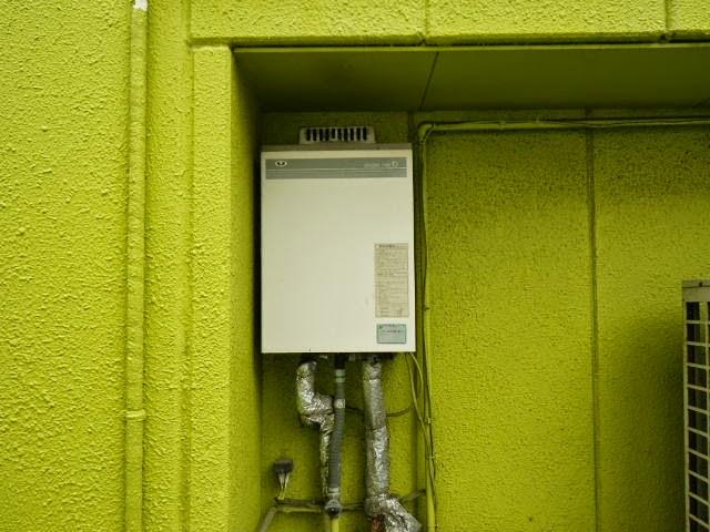 兵庫県 神戸市 中央区 戸建て住宅 ノーリツ 16号 ガス給湯器 屋外設置型 取替交換工事施工