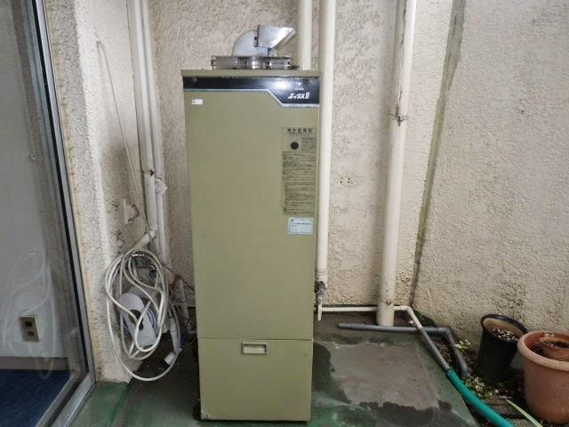 兵庫県 宝塚市 マンション リンナイ 20号 ガス給湯器 屋外壁掛型 取替交換工事施工